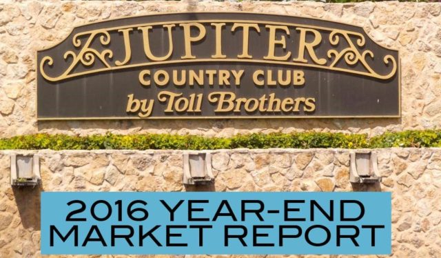 Sylvia's Spotlight on Jupiter Country Club – Year End Summary