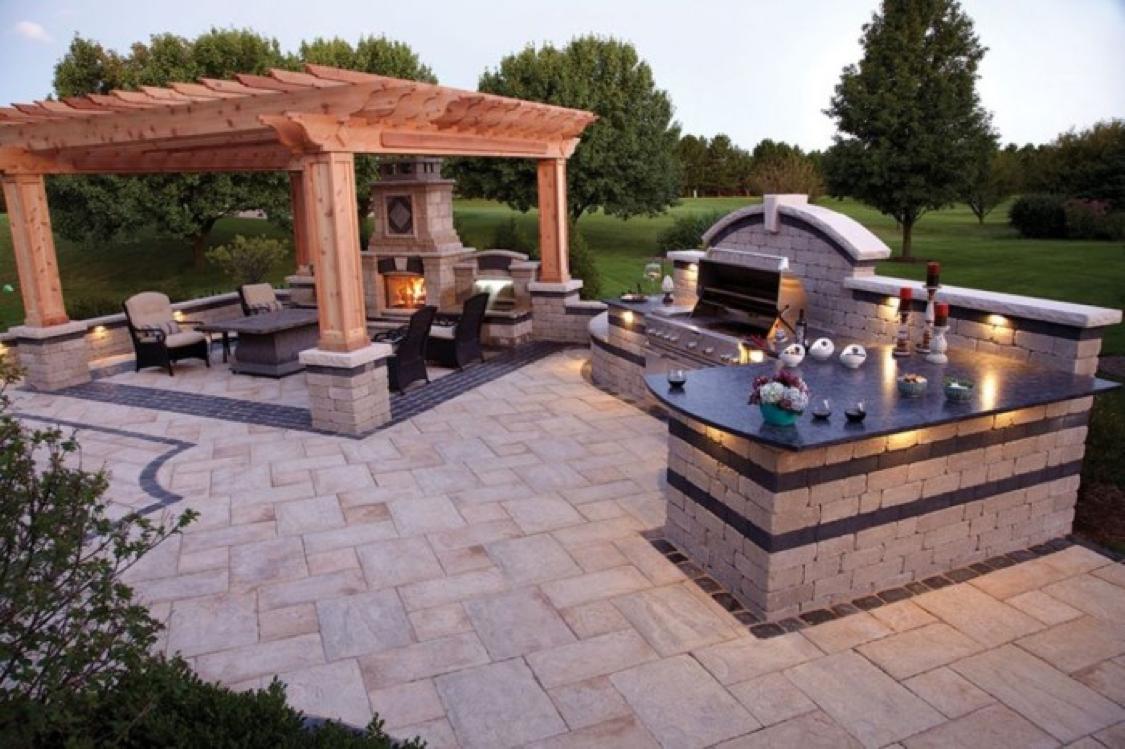 Jupiter Country Club Outdoor Kitchen Inspiration Echo Fine