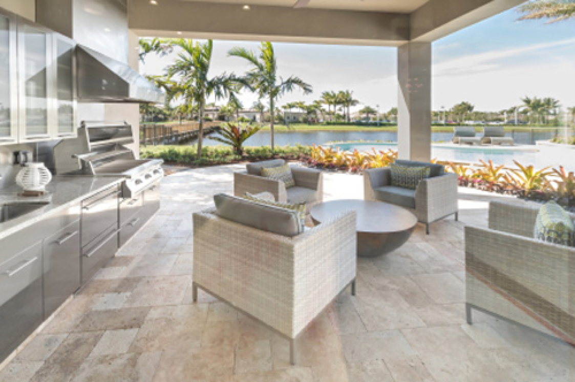 Jupiter Country Club – Outdoor Kitchen Inspiration