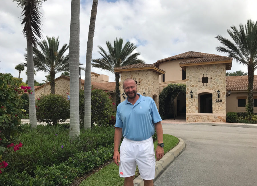 Meet Jupiter Country Club's new tennis professional: Massimo Policastro