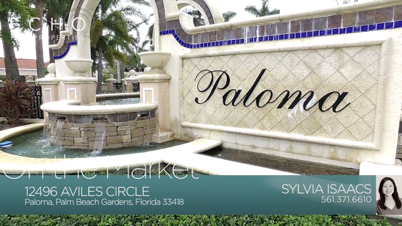 On The Market - Paloma in Palm Beach Gardens