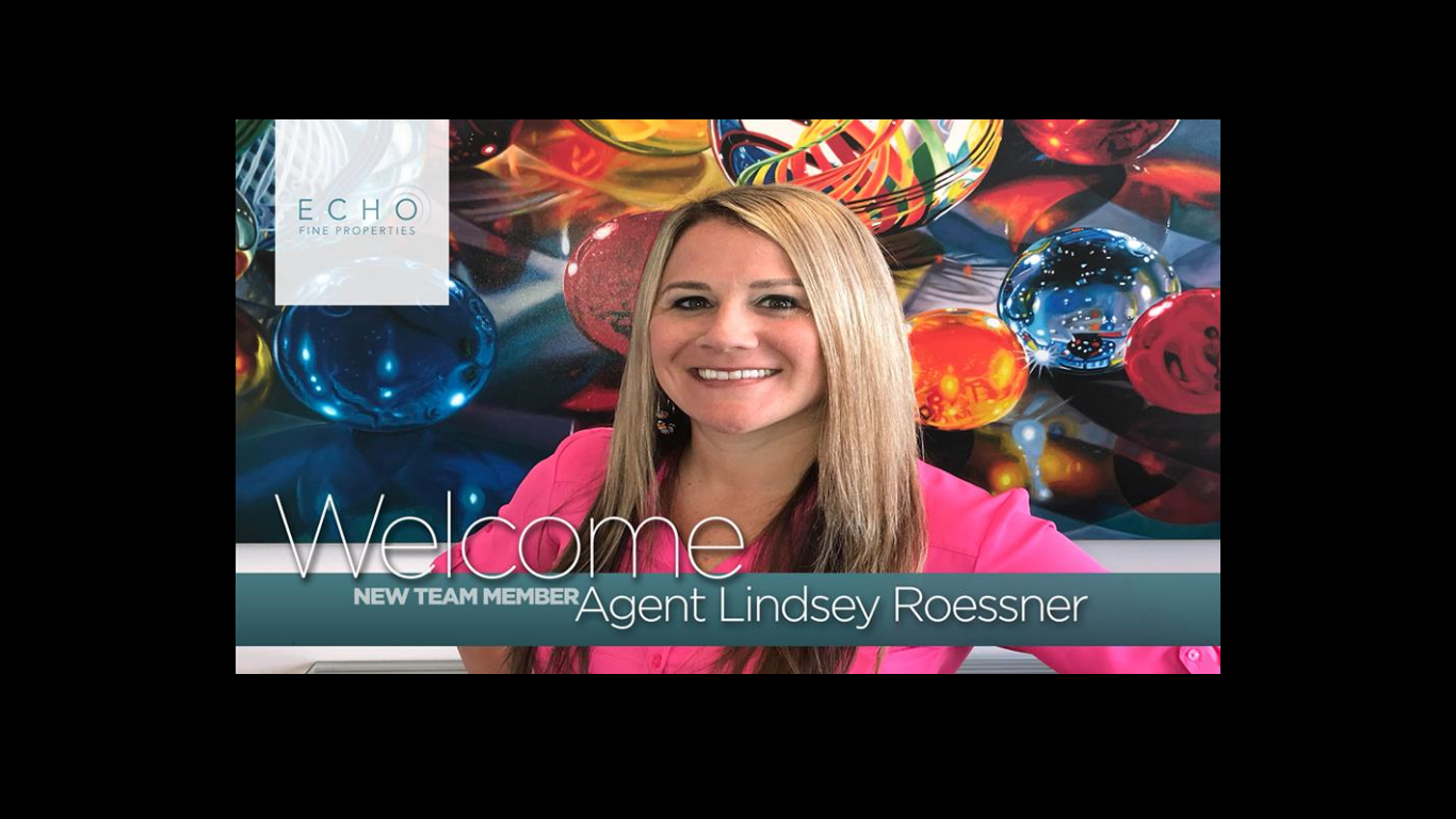 Welcome Lindsey Roessner